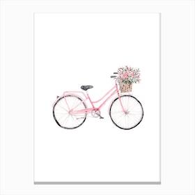 Pretty Bicycle Canvas Print