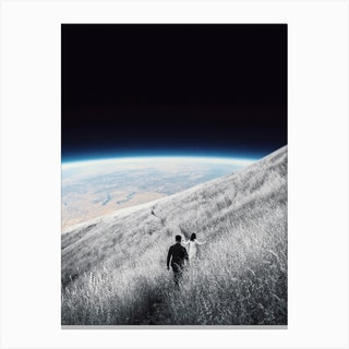 Don'T Worry I'M Coming With You Canvas Print