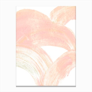 Pink Swipe Canvas Print