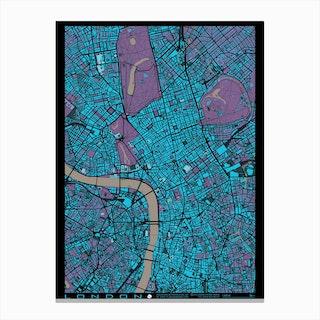 London Twilight Canvas Print