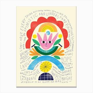 Balancing Thoughts Canvas Print