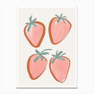 Sweet Berry Canvas Print