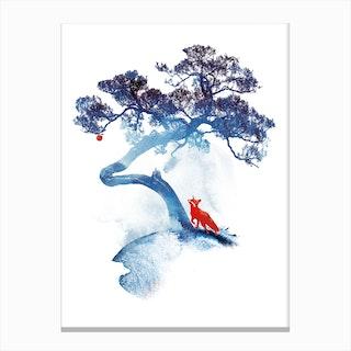 The Last Apple Tree Canvas Print
