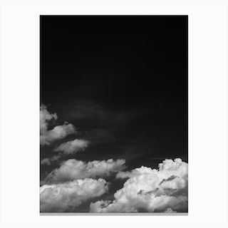 Black Sky Canvas Print
