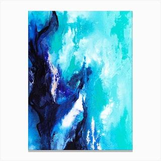 Ocean Bloom Canvas Print