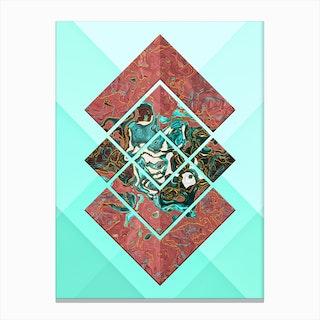Geometric XX Canvas Print