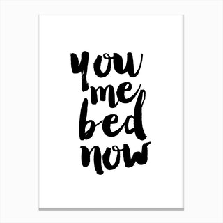 Bed Now Canvas Print