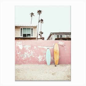 Time To Surf Canvas Print