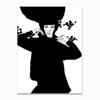 Strike a Pose Sonja Canvas Print