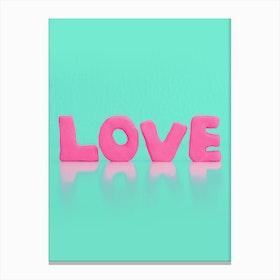 Love Sells Canvas Print