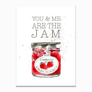You And Me Jam Canvas Print