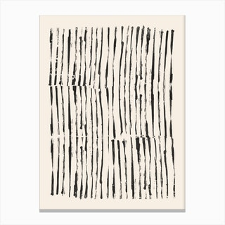 Minimal Marks Canvas Print