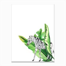In The Jungle VI Canvas Print