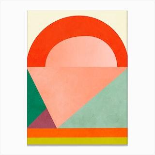 Minimal Lines6 Canvas Print