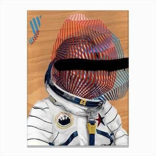 Spaceman No 2 Canvas Print