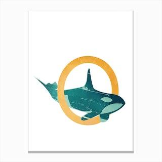 O Orca Canvas Print