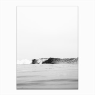 One Wave Canvas Print