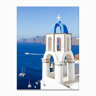 Greek Island Morning Canvas Print
