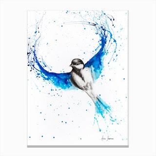 Bird of Ballet Canvas Print