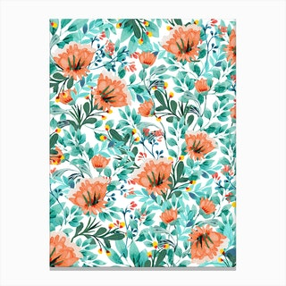 Tangerine Dreams Canvas Print