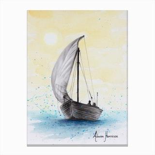 Wherever The Breeze Takes Me Canvas Print