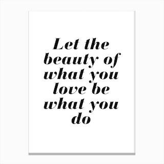 Rumi Quote Canvas Print
