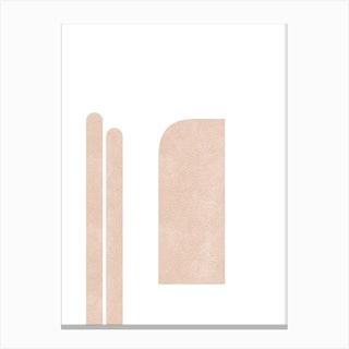Architectural Composition Canvas Print