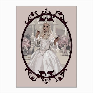 White Queen Canvas Print