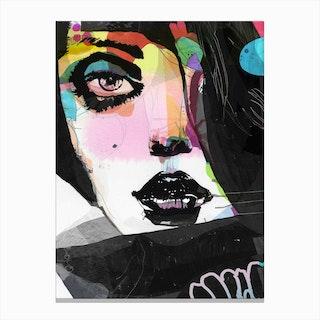 Not Black Canvas Print