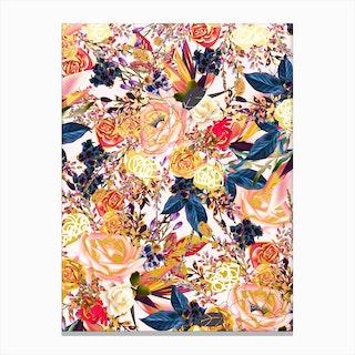 Rustic Floral Canvas Print