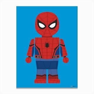 Toy Spider Man 2 Canvas Print