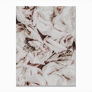 Silk Roses Canvas Print