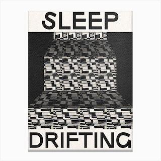 Sleepy D Canvas Print
