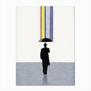 Raining Colors Canvas Print