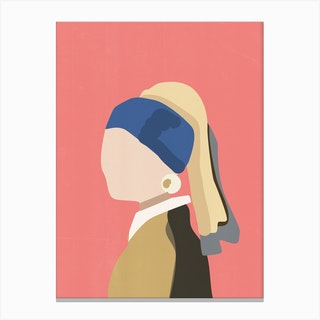 Girl With Pearl Earring Canvas Print