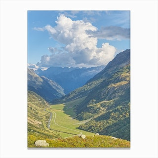 Swiss Valley Canvas Print