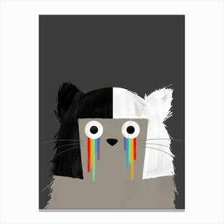 Cat Sia Canvas Print