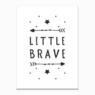 Little Brave Canvas Print