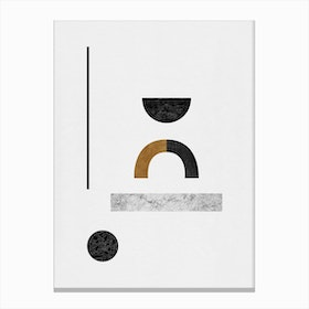 Abstract Geometric Iii Canvas Print