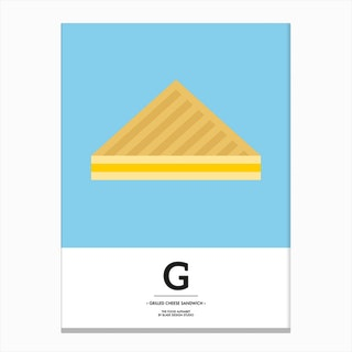 The Food Alphabet – G Canvas Print