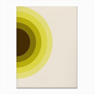 Quiet 10 Canvas Print