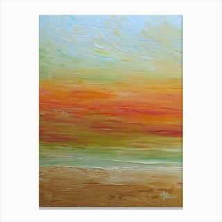 Solar Stream Canvas Print
