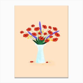 Poppy Matisse Canvas Print