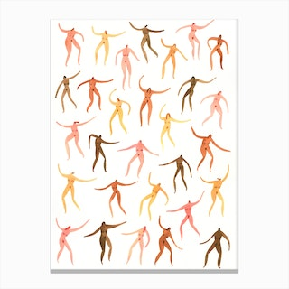 Birthday Suit Party Canvas Print