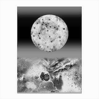 Mimas Canvas Print