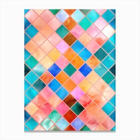 Geometric Xl Canvas Print