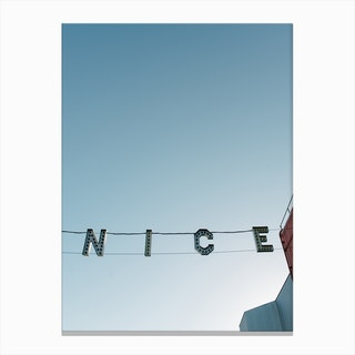 Ve Nice Canvas Print