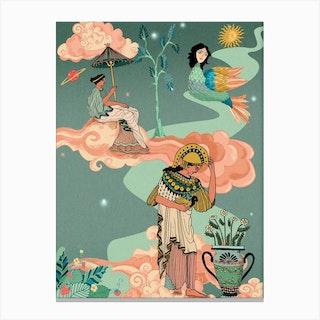 Greek Goddesses Canvas Print