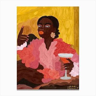 Fatou Canvas Print