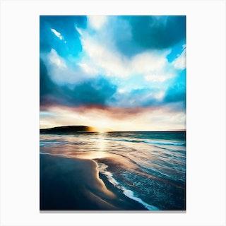 Southern Ocean Beach Canvas Print